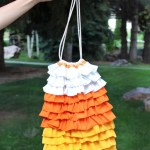 Candy Corn Trick or Treat Bags
