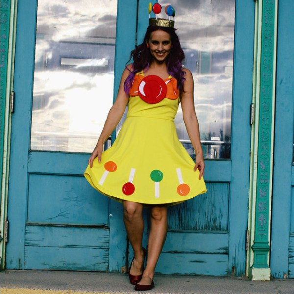 DIY Vintage Princess Lolly Costume
