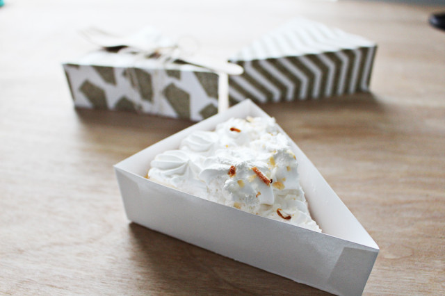 Free Printable Pie Wedge Boxes | A Joyful Riot @ajoyfulriot