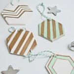 Hexagon Ornaments