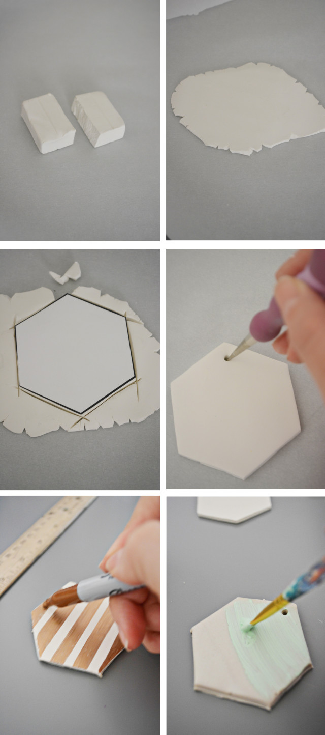 hexagon ornaments_steps