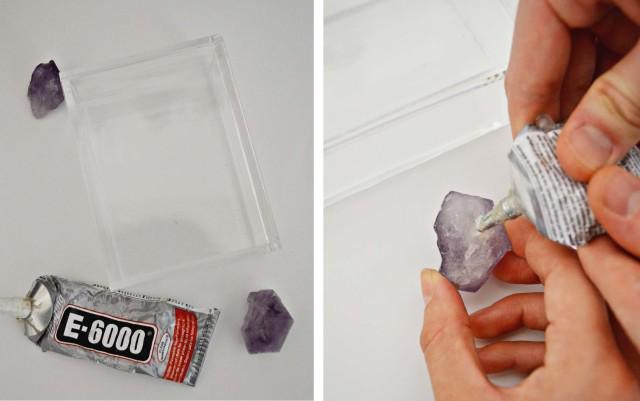DIY Gem Jewelry Box   A Joyful Riot @ajoyfulriot