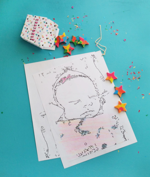 Personalized coloring pages, handmade crayons and printable crayon boxes. One awesome DIY gift. @ajoyfulriot