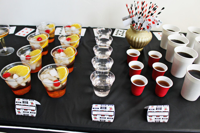 Casino theme party food who builds casino web sites