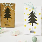 Be Merry Treat Bags | Free Printable Friday
