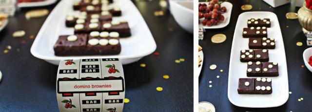 Slot Machine Vegas Party! Lots of ideas for casino themed food and decor @ajoyfulriot