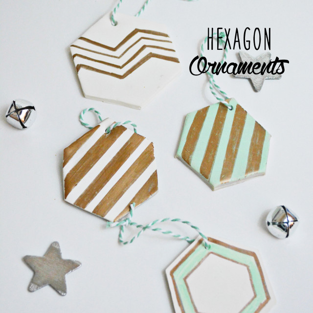 hexagon ornaments
