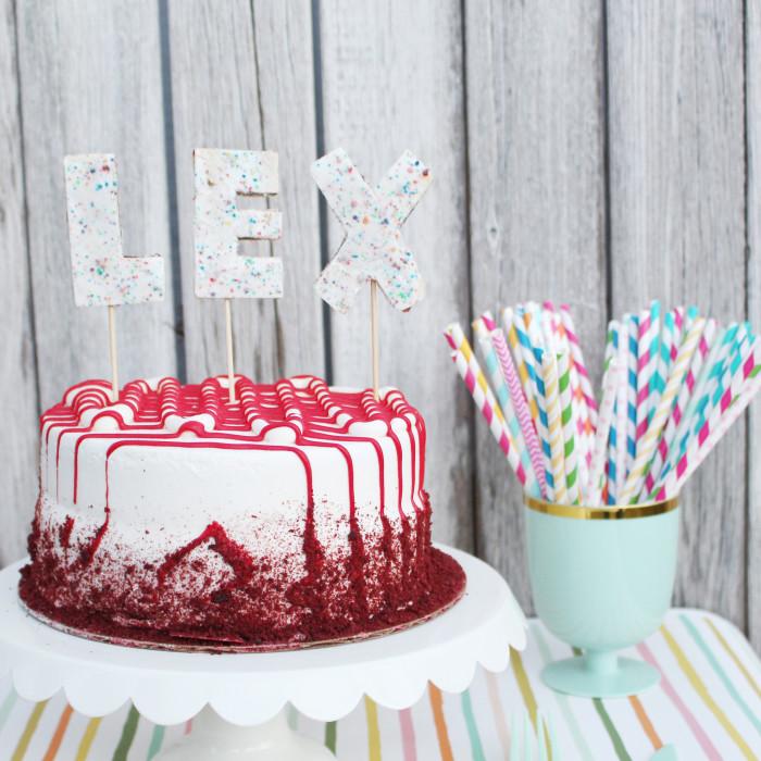 Pop Tart Cake Toppers
