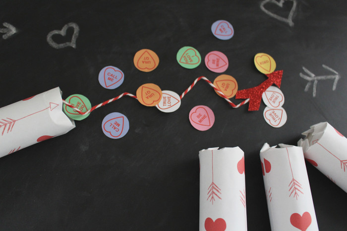 Valentine confetti poppers! | A Joyful Riot