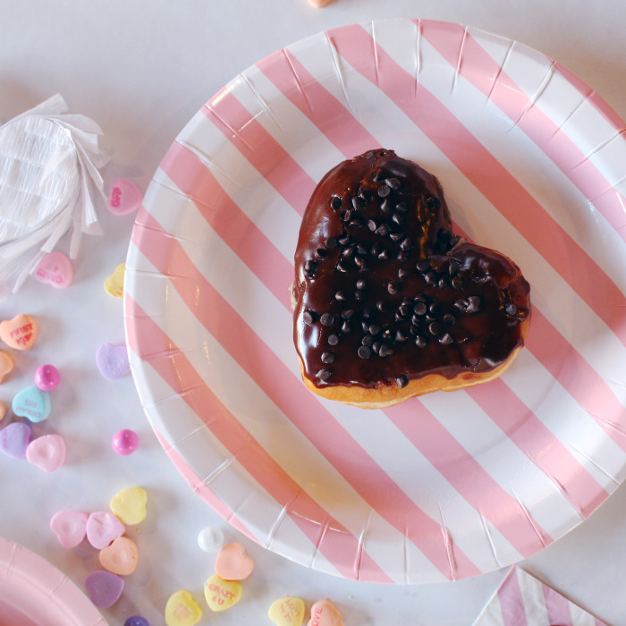 A black cat + pastel heart Galentine Friday the 13th party! | A Joyful Riot