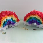 Gold at the End of the Mini Rainbow Piñatas