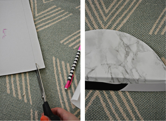 marble magazine holder step3