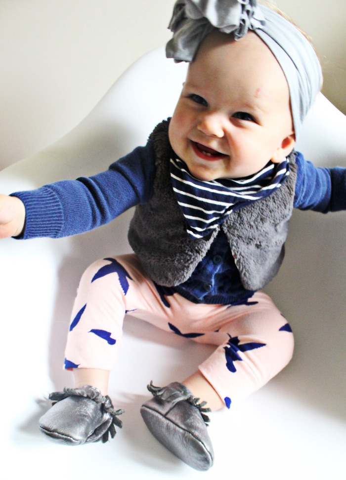 Free pattern for simple baby harem pants via A Joyful Riot