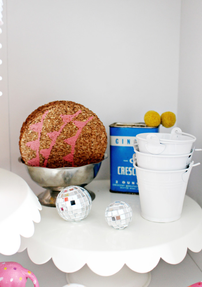 bright colors and white craft room   A Joyful Riot