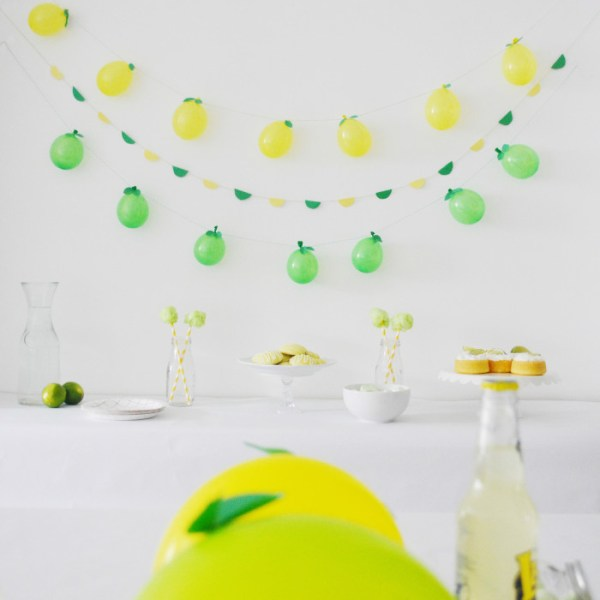 A Lemon + Lime Party