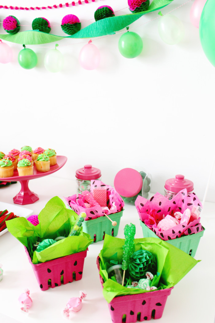 Pink And Green Watermelon Party A Joyful Riot