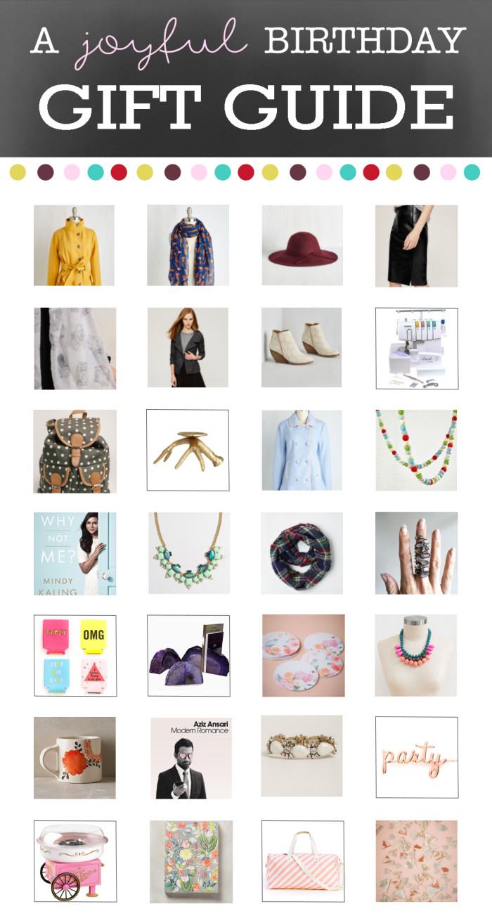 Great gift guide for the ladies in your life this season from ajoyfulriot.com