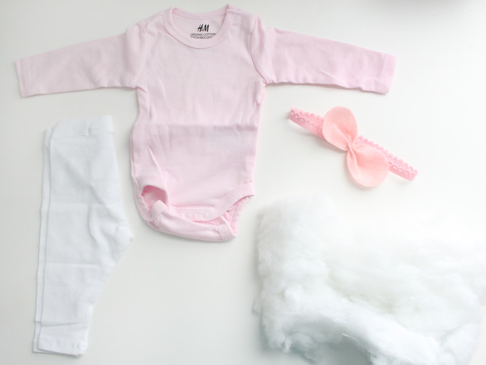 DIY baby cotton candy costume ajoyfulriot.com @ajoyfulriot