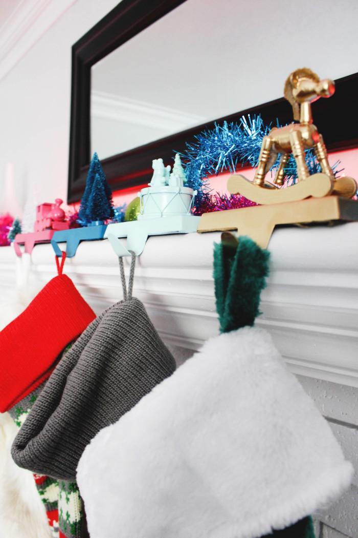 Whimsical Toy Stocking Hanger DIY-28