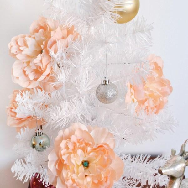 DIY Peony Ornaments