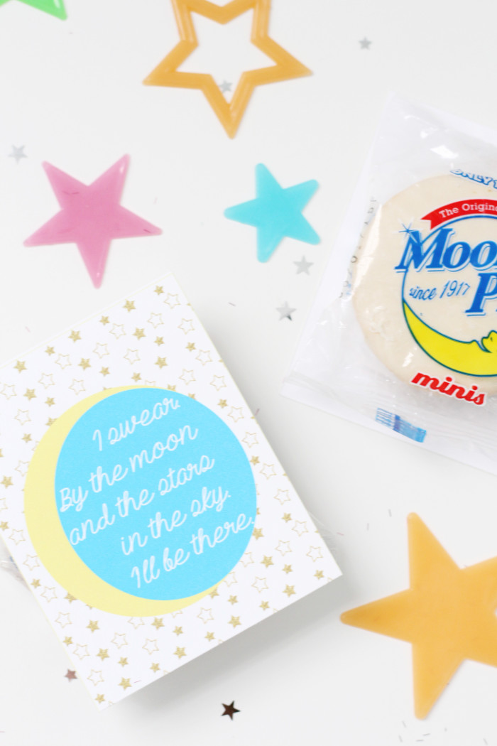 All 4 One Valentines. 90s themed moon pie valentines via ajoyfulriot.com @ajoyfulriot 1