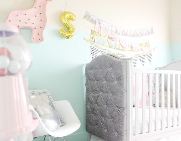Stella's Whimsical Glam DIY Nursery