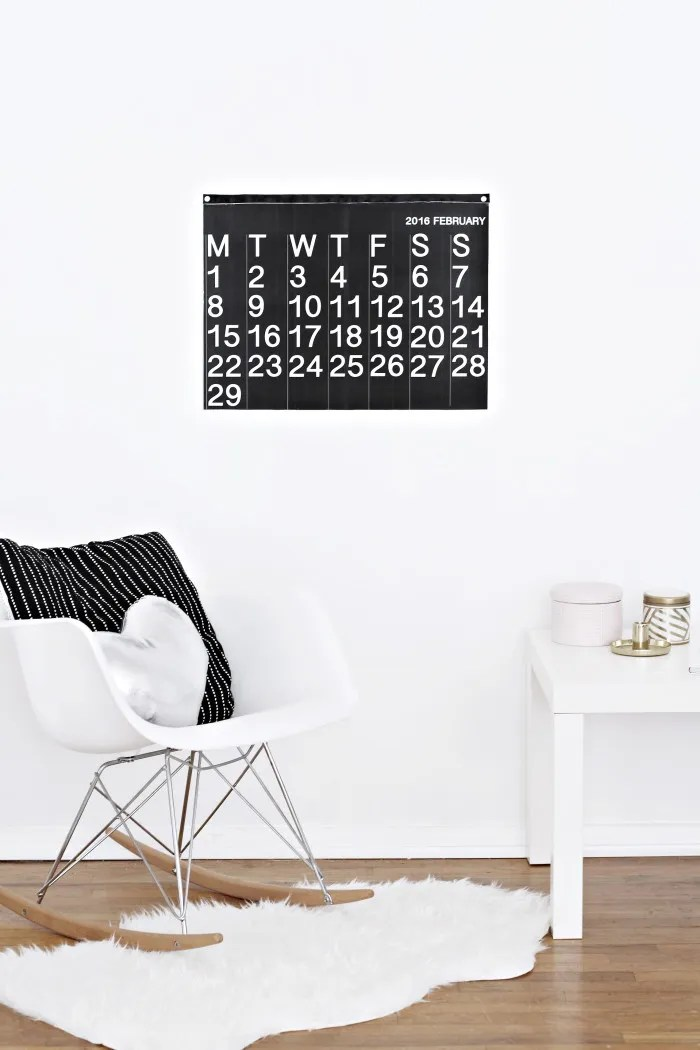 DIY stendig inspired free printable calendar 2016 from ajoyfulriot.com @ajoyfulriot 6