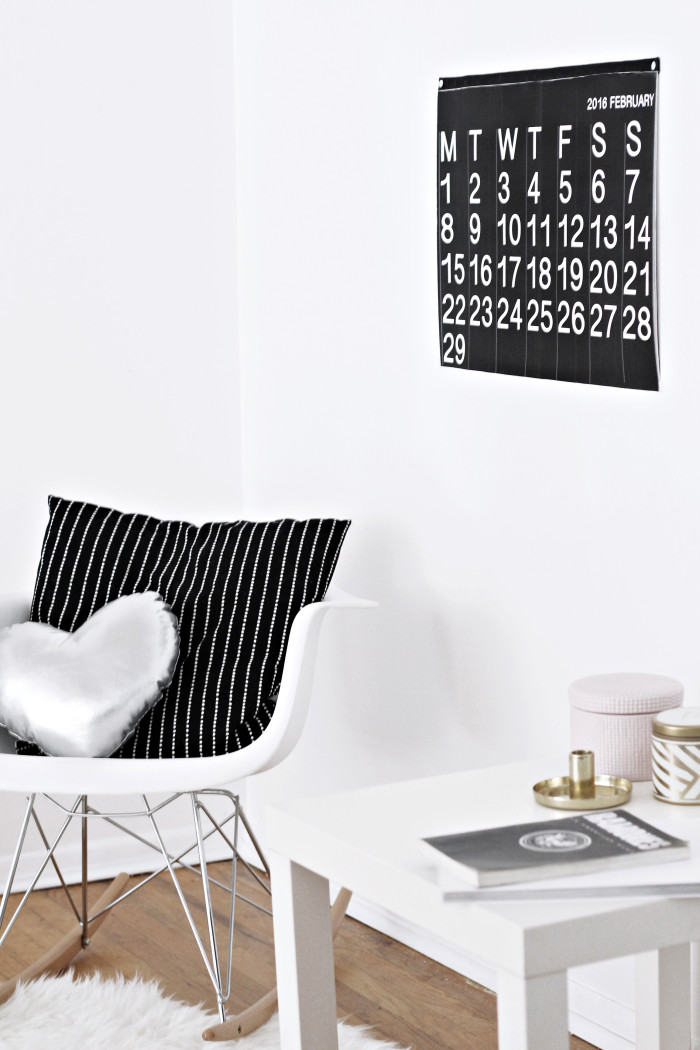 DIY stendig inspired free printable calendar 2016 from ajoyfulriot.com @ajoyfulriot