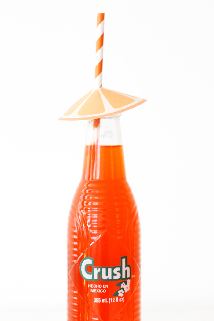 Citrus Straw Umbrella free printables from @ajoyfulriot-23