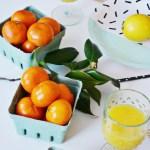 3 Simple Citrus Centerpieces
