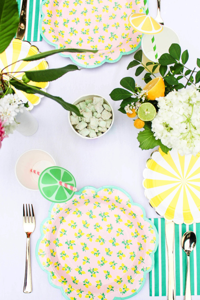 Vintage Citrus Floral Birthday Party via ajoyfulriot.com-26