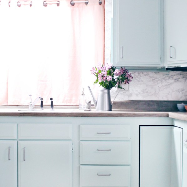 DIY Kitchen Remodel Reveal + Concrete Countertops