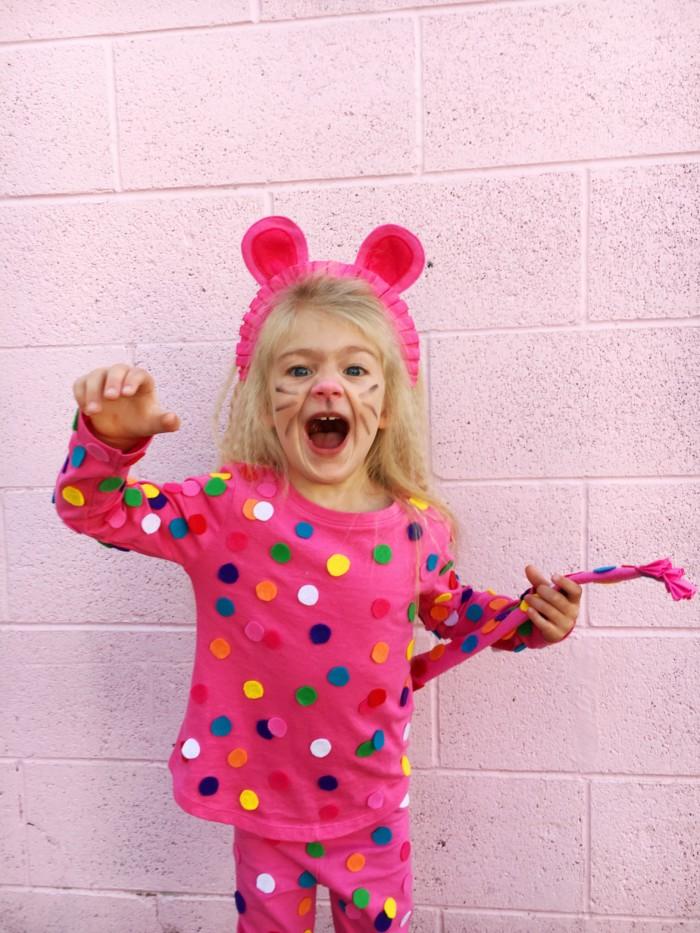 DIY animal cookie costume @ajoyfulriot  sc 1 st  A Joyful Riot & DIY Circus Animal Cookie Costume | A Joyful Riot