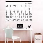 Free Printable DIY Stendig Calendar