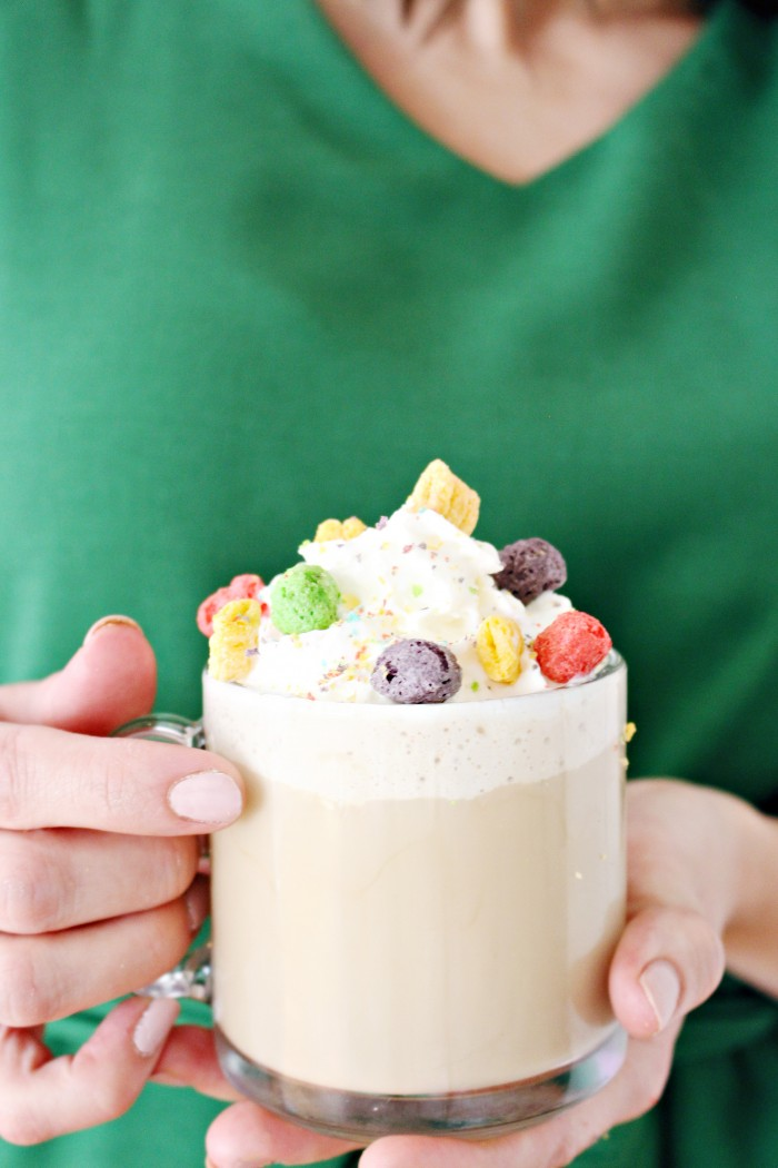 The best coffee and hot cocoa creamers--cereal flavored! Cereal milk creamers will make all your latte dreams come true.
