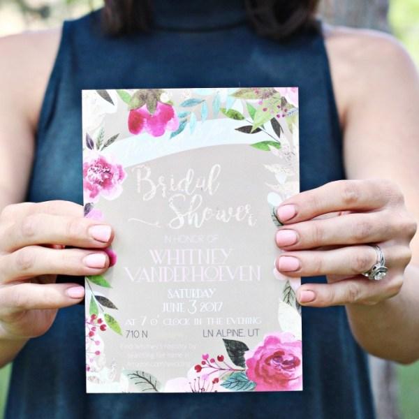 Basic Invite + Outdoor Bridal Shower Inspiration