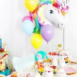 A Rainbow Unicorn Birthday Breakfast
