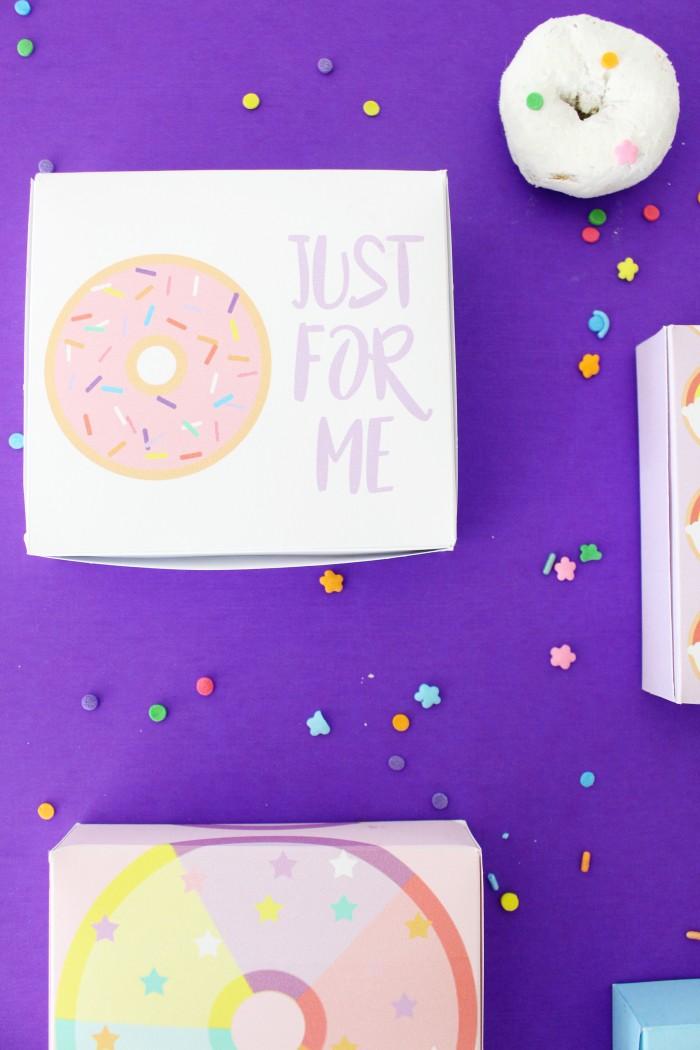 free printable mini donut boxes a joyful riot