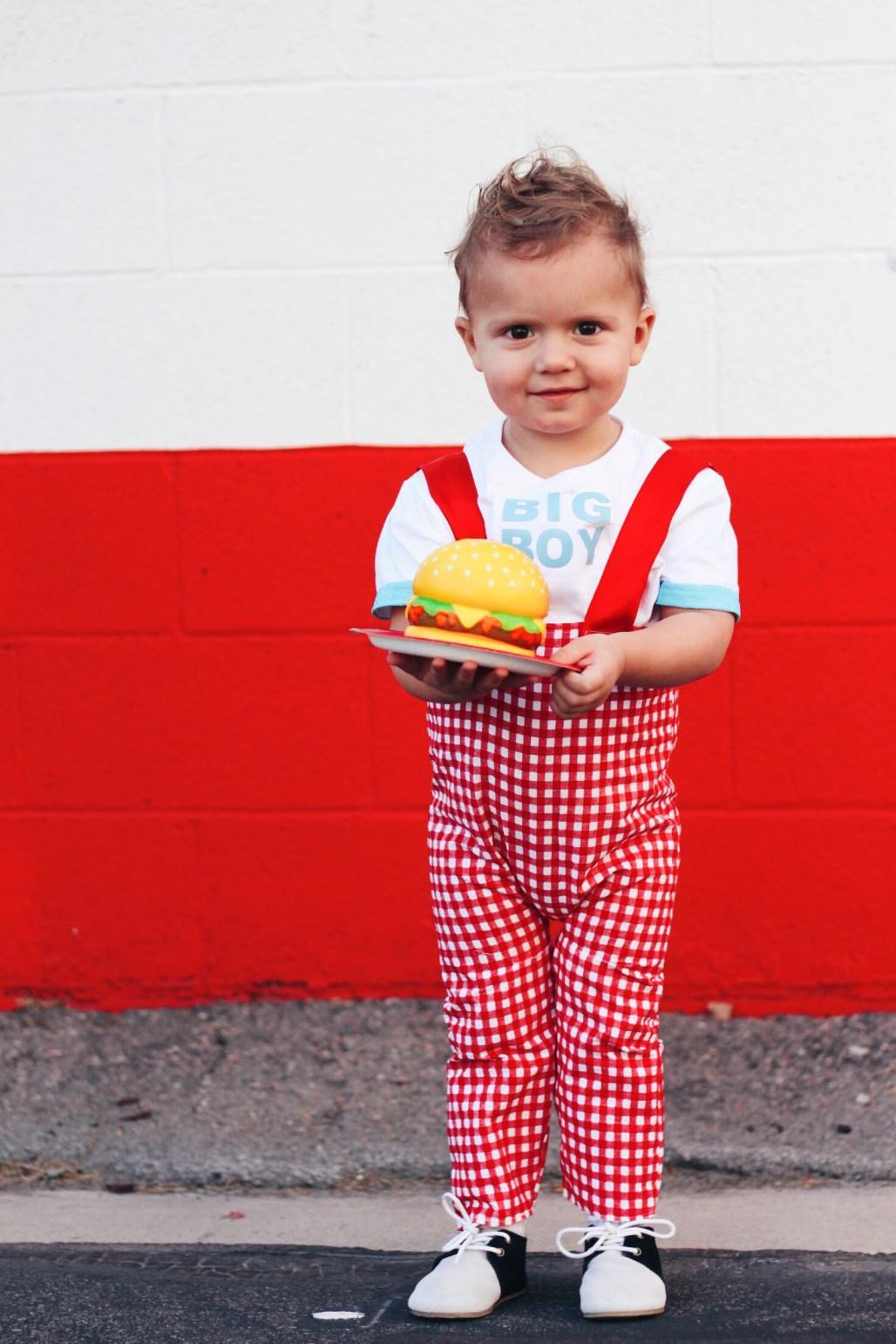 big boy burger costume diy