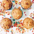 Fruity Pebble Cereal Milk Muffins