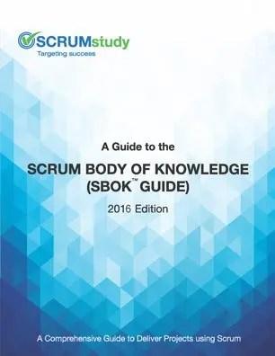 scrum body of knowledge book guide sbok cover