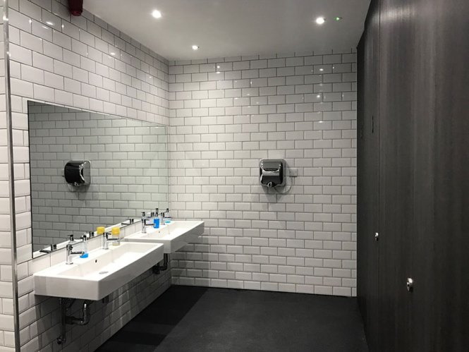 Bathroom Remodel Cost London office bathroom refurbishment : brightpulse