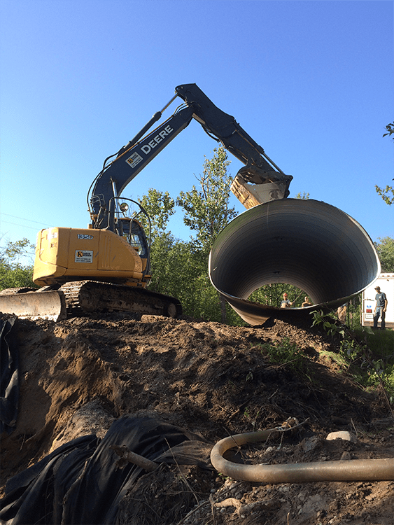 County culvert replacement 2 pic 1