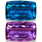 Color Change Fluorite Gemstone Information At AJS Gems