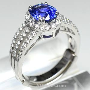Sapphire Rings At AJS Gems