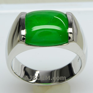 5.92 ct Imperial Jade Ring