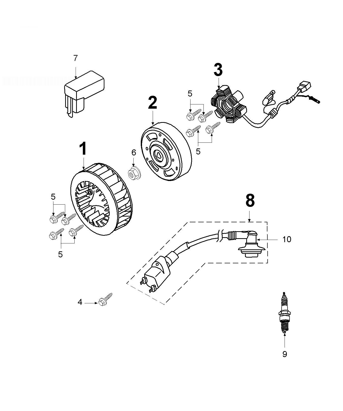 evinrude electric shift wiring diagram � peugeot trekker 50 flywheel magneto