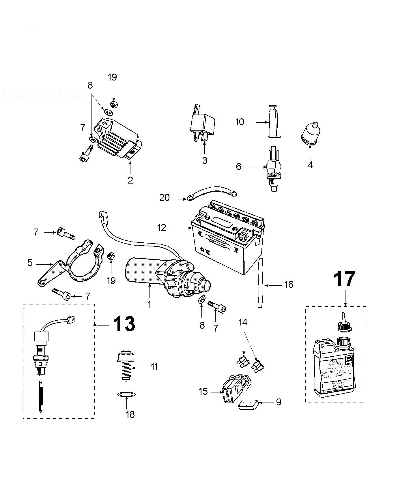 Peugeot Xps Sm Electric Equipment