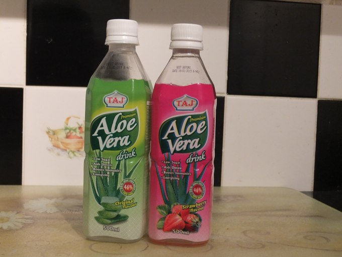 Taj Aloe Vera drinks