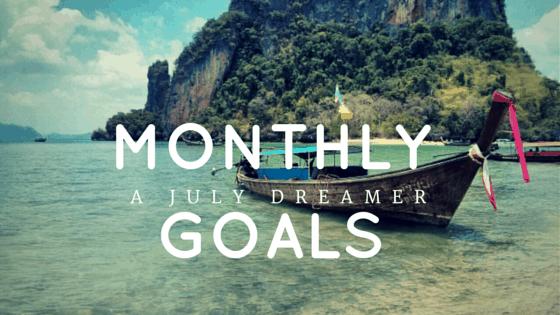 {Monthly Series} October 2017 Goals